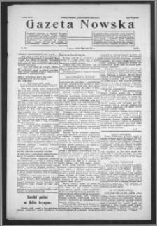Gazeta Nowska 1933, R. 10, nr 18 + dodatek