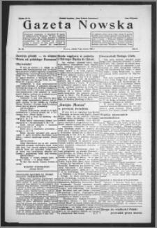 Gazeta Nowska 1933, R. 10, nr 24 + dodatek