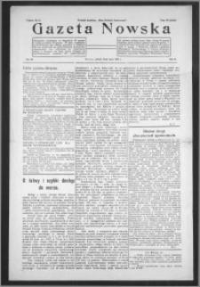 Gazeta Nowska 1933, R. 10, nr 28 + dodatek