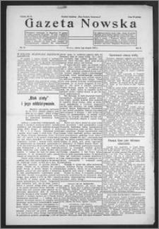 Gazeta Nowska 1933, R. 10, nr 31 + dodatek