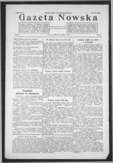 Gazeta Nowska 1933, R. 10, nr 32 + dodatek