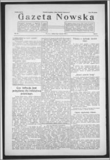 Gazeta Nowska 1933, R. 10, nr 33 + dodatek