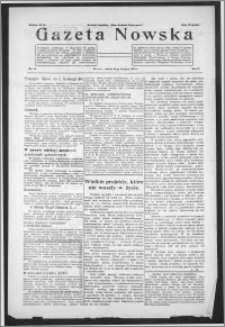 Gazeta Nowska 1933, R. 10, nr 34 + dodatek