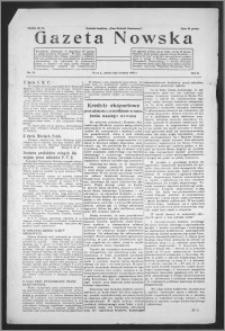 Gazeta Nowska 1933, R. 10, nr 35 + dodatek