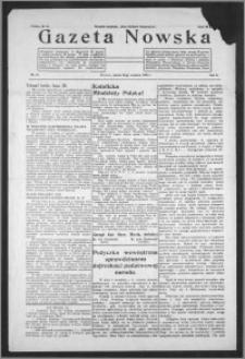 Gazeta Nowska 1933, R. 10, nr 37 + dodatek