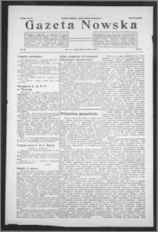 Gazeta Nowska 1933, R. 10, nr 38 + dodatek