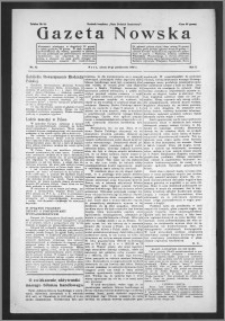 Gazeta Nowska 1933, R. 10, nr 42 + dodatek