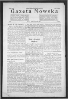 Gazeta Nowska 1933, R. 10, nr 44 + dodatek