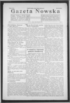 Gazeta Nowska 1933, R. 10, nr 46 + dodatek