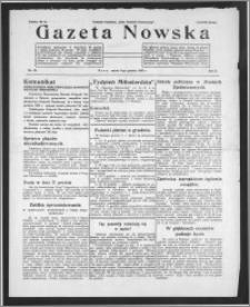 Gazeta Nowska 1933, R. 10, nr 49 + dodatek