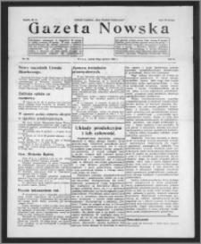 Gazeta Nowska 1933, R. 10, nr 50 + dodatek
