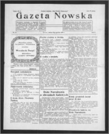 Gazeta Nowska 1933, R. 10, nr 51 + dodatek