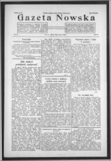 Gazeta Nowska 1934, R. 11, nr 26 + dodatek