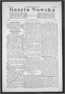 Gazeta Nowska 1935, R. 12, nr 6 + dodatek