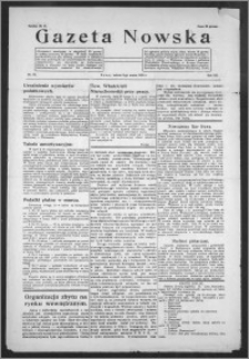 Gazeta Nowska 1935, R. 12, nr 10