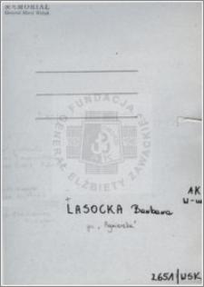 Lasocka Barbara