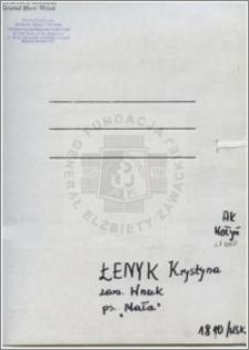 Łenyk Krystyna