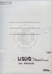 Leocho Stanisława