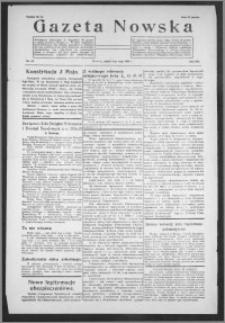 Gazeta Nowska 1935, R. 12, nr 18