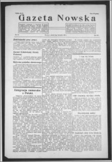 Gazeta Nowska 1935, R. 12, nr 45