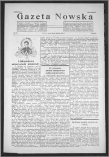 Gazeta Nowska 1935, R. 12, nr 46