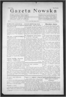 Gazeta Nowska 1935, R. 12, nr 48