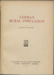 German rural population