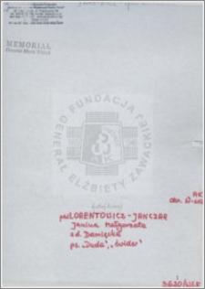 Lorentowicz Janczar Janina Małgorzata