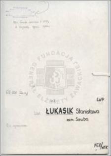 Łukasik Stanisława