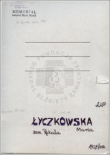 Łyczkowska Maria