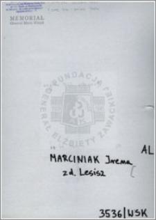 Marciniak Irena