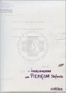 Marcinkowska Stefania