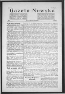 Gazeta Nowska 1936, R. 13, nr 8