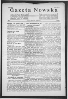 Gazeta Nowska 1937, R. 14, nr 8