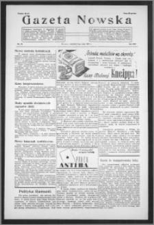 Gazeta Nowska 1937, R. 14, nr 19