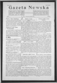 Gazeta Nowska 1937, R. 14, nr 36