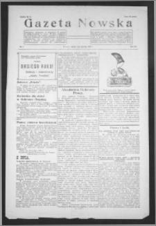 Gazeta Nowska 1938, R. 15, nr 1