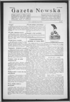 Gazeta Nowska 1938, R. 15, nr 4