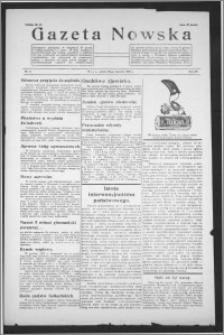 Gazeta Nowska 1938, R. 15, nr 5