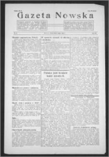 Gazeta Nowska 1938, R. 15, nr 8