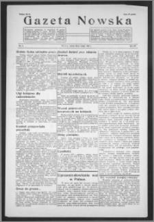 Gazeta Nowska 1938, R. 15, nr 9