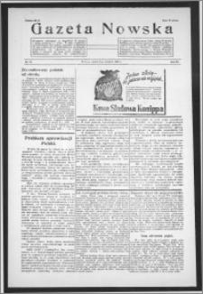 Gazeta Nowska 1938, R. 15, nr 15