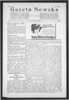 Gazeta Nowska 1938, R. 15, nr 17