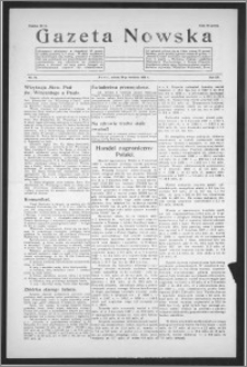 Gazeta Nowska 1938, R. 15, nr 18