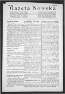 Gazeta Nowska 1938, R. 15, nr 19
