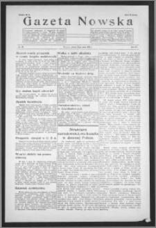 Gazeta Nowska 1938, R. 15, nr 20