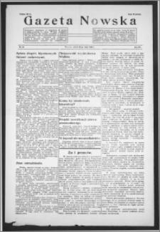 Gazeta Nowska 1938, R. 15, nr 21