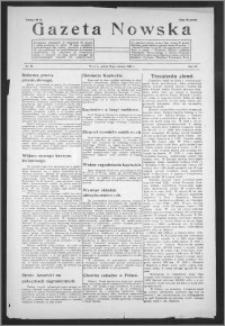 Gazeta Nowska 1938, R. 15, nr 25
