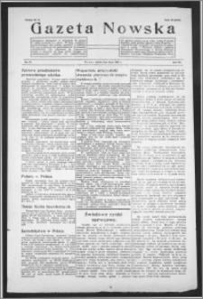 Gazeta Nowska 1938, R. 15, nr 27