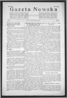 Gazeta Nowska 1938, R. 15, nr 35